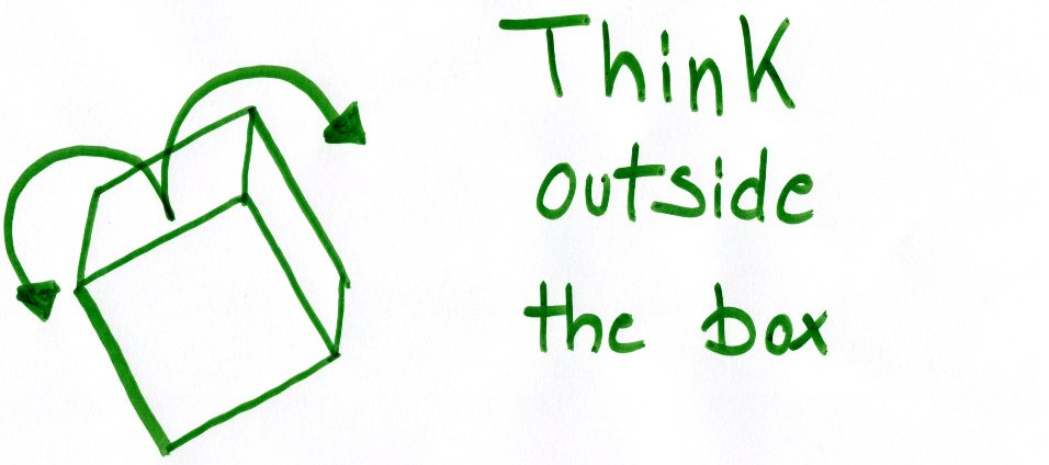 Gruppensupervision: Think outside the box